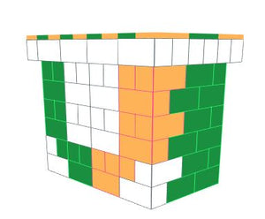Favorite Teams - Bar - University of Miami- 4 x 3 x 3 Ft 7 In