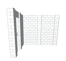 Load image into Gallery viewer, L Shaped Wall - W/ Door - 10 x 10 x 8 Ft