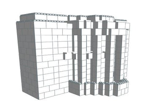 Model - White House - 12 Ft x 8 Ft 3 In x 6 Ft 7 In