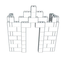 Load image into Gallery viewer, Play Castle - Tiny - 5 Ft 6 In x 3 Ft 6 In x 5 Ft