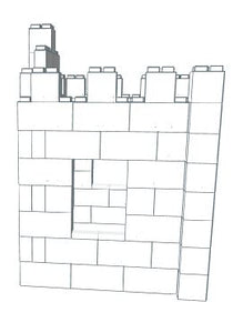 Play Castle - Tiny - 5 Ft 6 In x 3 Ft 6 In x 5 Ft