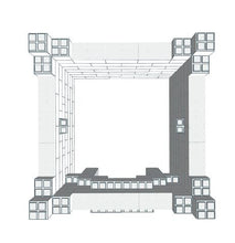 Load image into Gallery viewer, Play Castle - Small - 5 x 5 x 4 Ft 6 In