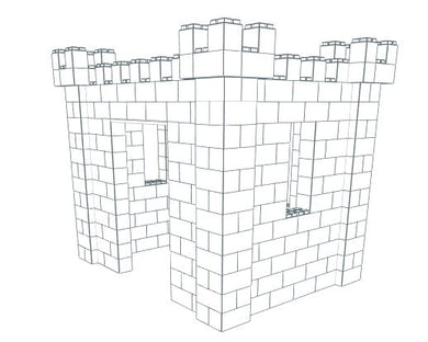 Play Castle - Medium - 8 x 6 x 7 Ft