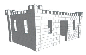 Play Castle - Large - 16 x 10 x 7 Ft