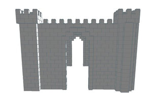 Castle - 3 Sided - 23 Ft 6 In x 14 Ft 6 In x 10 Ft