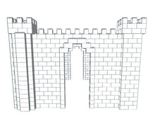 Load image into Gallery viewer, Castle - 3 Sided - 23 Ft 6 In x 14 Ft 6 In x 10 Ft