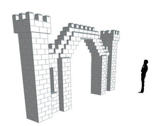 Load image into Gallery viewer, Castle Arch - 19 x 2 x 10 Ft