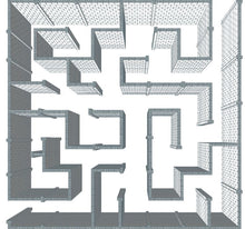 Load image into Gallery viewer, Maze - Version B - 40 x 40 Ft