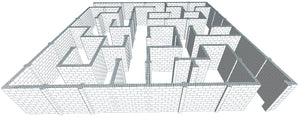 Maze - Version B - 40 x 40 Ft