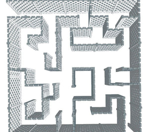 Maze - Stagger Pattern - 40 x 40 Ft