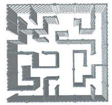Load image into Gallery viewer, Maze - Stagger Pattern - Version B - 40 x 40 Ft
