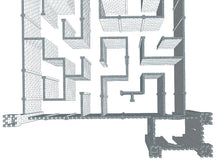 Load image into Gallery viewer, Maze - Castle Facade - 45 x 48 x 10 Ft