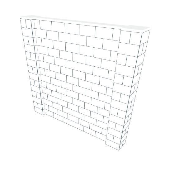EverBlock Wall Kit - 8' X 7'