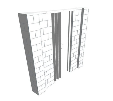 EverBlock Wall Kit - 8' X 7' W Door