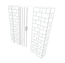 Load image into Gallery viewer, EverBlock Wall Kit - 8' X 7' W Door