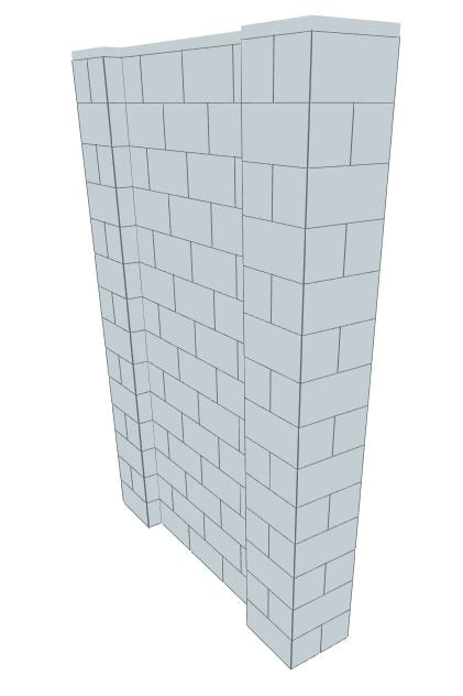 EverBlock Wall Kits - 5' X 7'