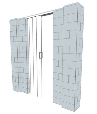 EverBlock Wall Kit - W/ Door - 7' X 7'