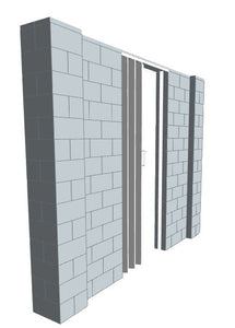 EverBlock Wall Kit - W/ Door - 9' X 7'