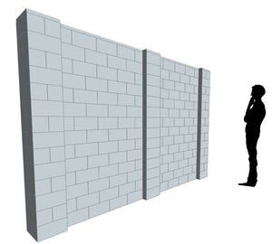 EverBlock Wall Kit - 11' X 7' Wall Kit