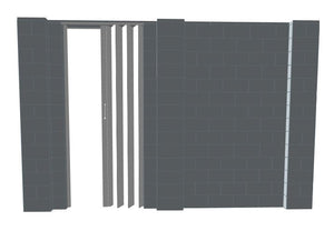 EverBlock Wall Kit - W/ Door - 11' X 7'
