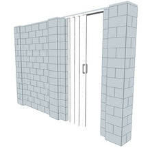 Load image into Gallery viewer, EverBlock Wall Kit - W/ Door - 11' X 7'