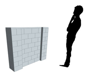 Partition Wall - 5 x 4 Ft