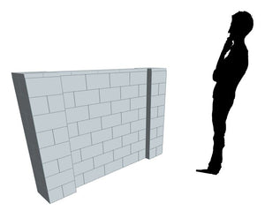 Partition Wall - 6 x 4 Ft