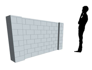 Partition Wall - 8 x 4 Ft