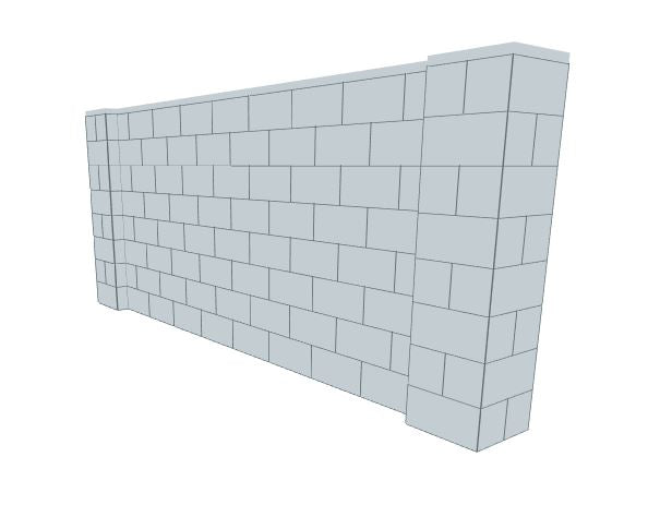 Partition Wall - 10 x 4 Ft