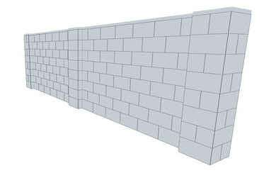 Partition Wall - 15 x 4 Ft