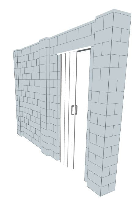 Simple Wall - 12 x 8 Ft W/ Door