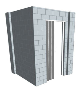 L Shaped Wall - 6 x 6 x 8 Ft