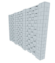 Load image into Gallery viewer, Stagger Pattern Wall - 14 x 8 Ft