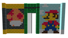 Load image into Gallery viewer, Mosaic Wall - Mario - 20 x 2 x 10 Ft