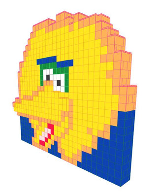 Mosaic Wall - Big Bird - 14 Ft 9 In x 5 Ft x 12 Ft 1 In