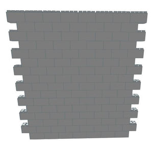 Wall Building Component - 8 x 8 Ft Wall Section