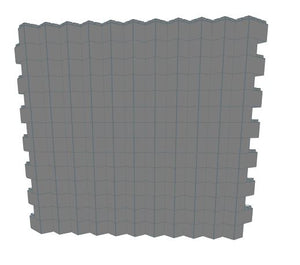 Wall Building Component - 45? Angle ~8.5 Ft x 7 Ft
