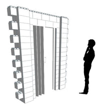 Load image into Gallery viewer, Wall Building Component - Doorway Heavy Duty - 7 x 8 Ft