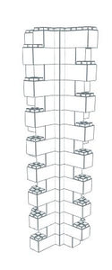 Wall Building Component - Heavy Duty Wall Column Corner 3