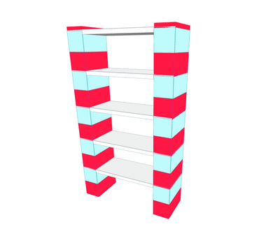 Shelving - 5 Level, 36