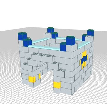 Play Castle - Small - 5 x 5 x 4 Ft 6 In