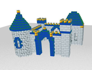 Castle - Magic Castle - 18 Ft 3 In x 16 Ft 9 In x 11 Ft 7 In