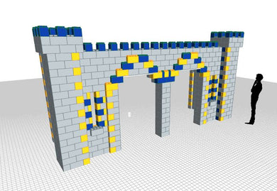 Castle - Double Door - 20 x 6 x 10 Ft