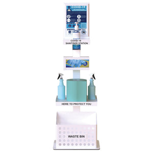 Multi-Purpose Cleaning Station White