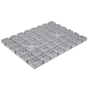 "Everbase 2 Solid Top Tile - 18""x24"" - Light Grey"