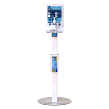 Load image into Gallery viewer, Hand Sanitiser Station in White