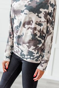 On The Run Boatneck Top