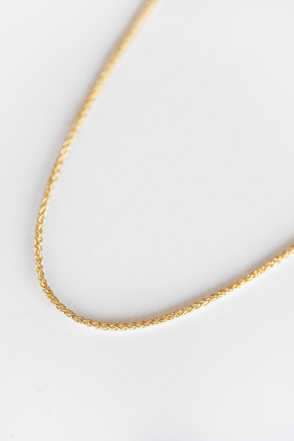 14K WHEAT CHAIN
