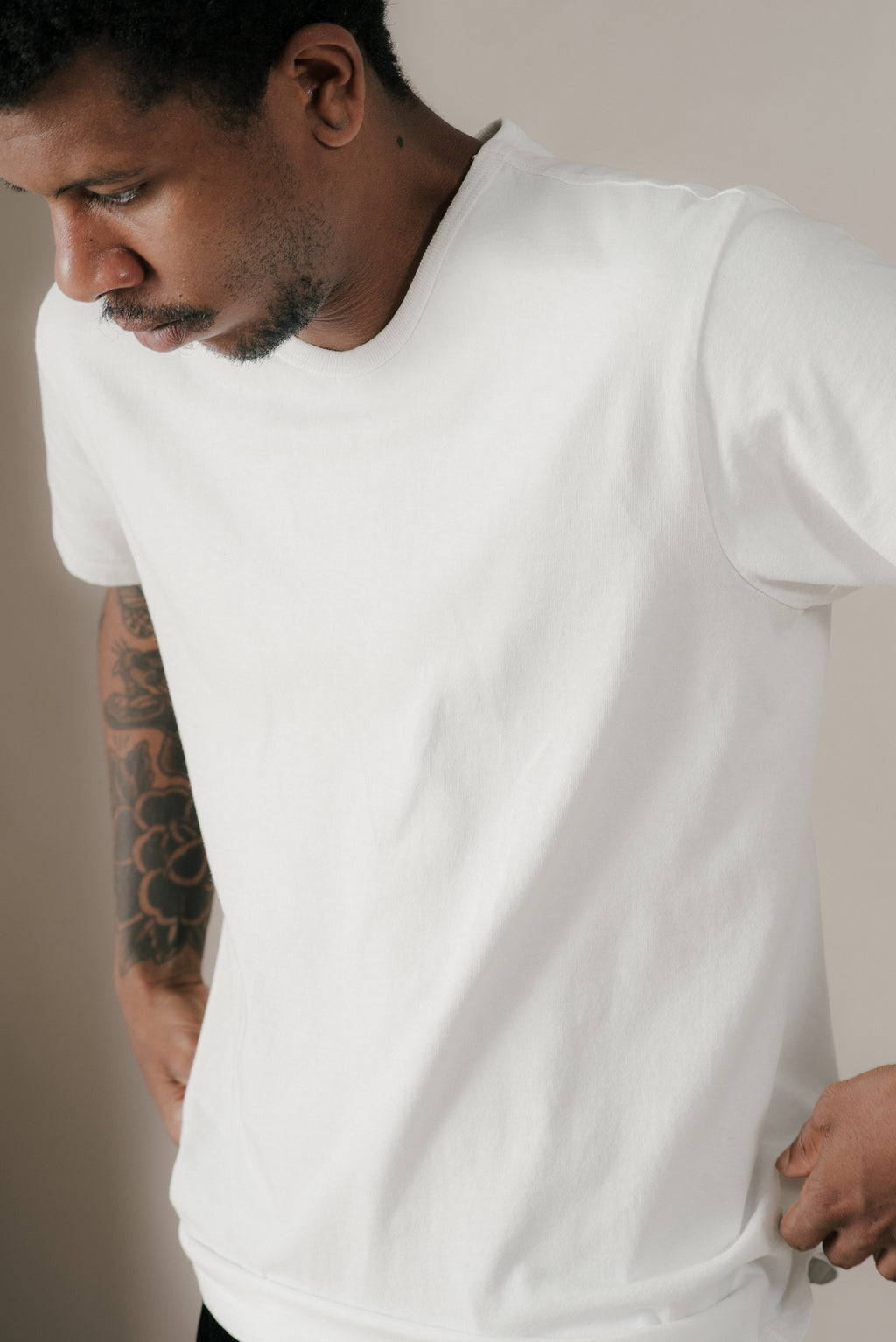 TEE 2-PACK IN WHITE