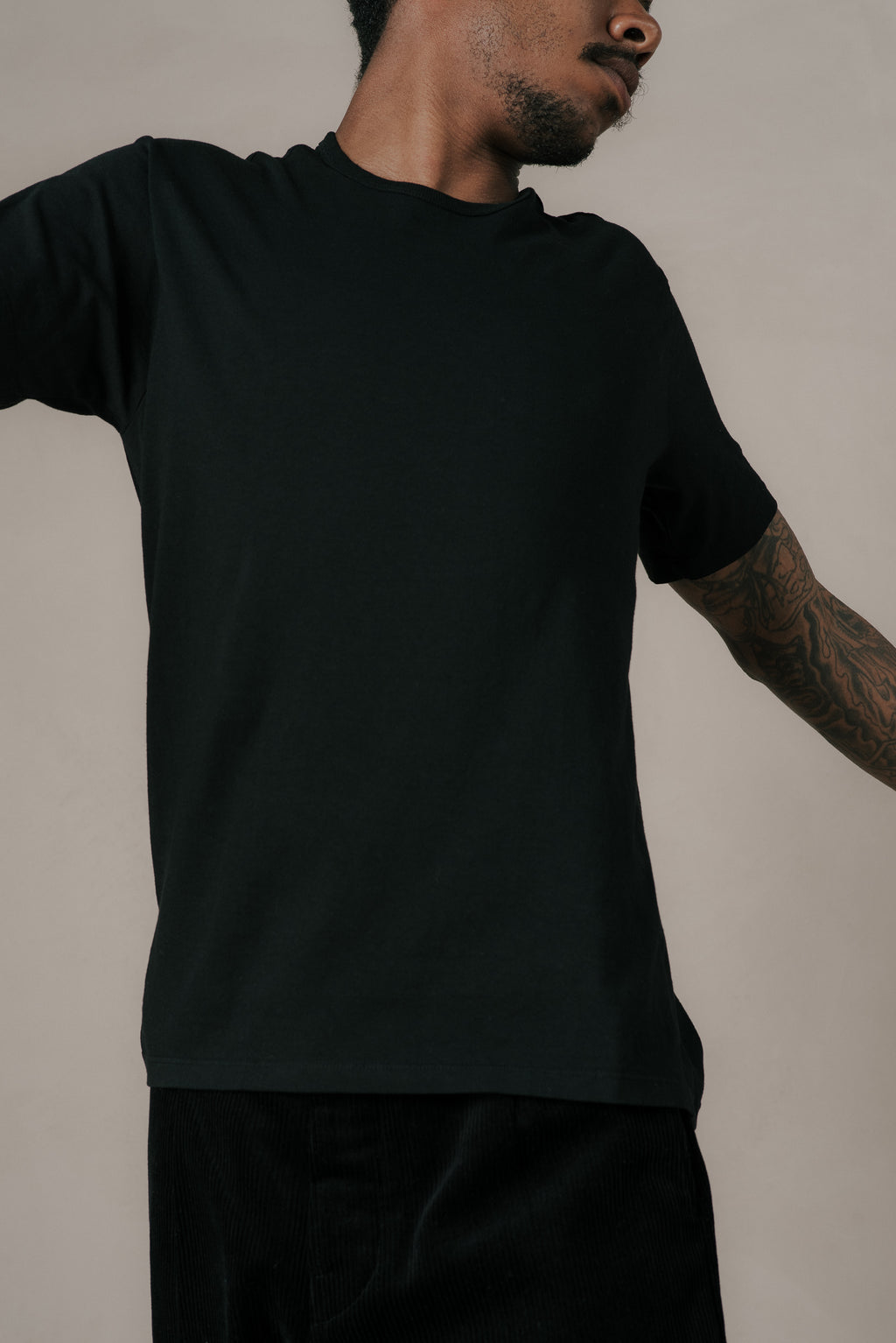TEE 2-PACK IN BLACK